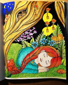 #mariatrolle #vivisökerenvän #derwent #inktense #derwntinktwnse #omalovanky #colorbook #omalovankyprodospele