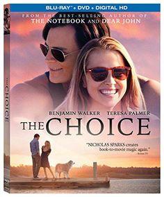 The Choice Bluray  DVD  Digital HD Bluray *** ** AMAZON BEST BUY **