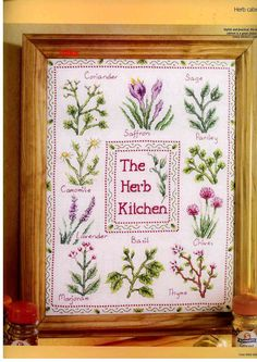Herb Kitchen Cabinet
