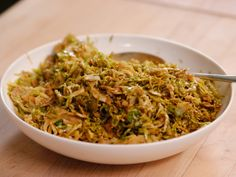 Sauteed Shredded Brussels Sprouts recipe from Ina Garten via Food Network