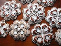 Adventi asztaldiszek — with María Isabel Díaz. Hungarian Advent wreath cookies...