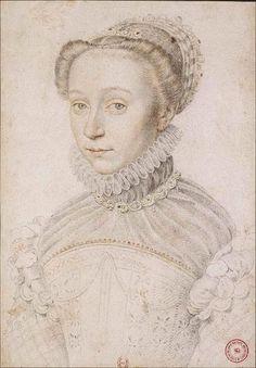 1559 Elisabeth de France by François Clouet