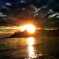 Sunset in Rio - @chmarra- #webstagram