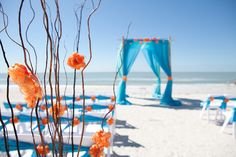 lovely colors for a beach wedding. This theme is called Summer Citrus!!!