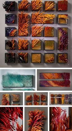 "Wind & Water"" realistic sealife glass sculptures by Shayna Leib"