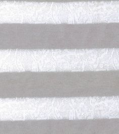 Doodles Collection- Lace Stripe Knit Gray