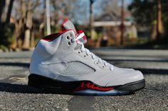 """Releasing: Air Jordan 5 Retro """"Fire Red"""""""