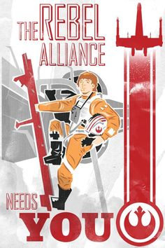 Star Wars Propaganda Poster for the Rebel Alliance