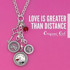 Love is greater than distance.  Follow link to start creating your own lockets