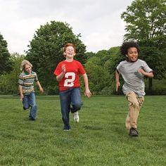 9 All-Natural Tummy Ache Remedies: Encourage Outdoor Activities (via Parents.com)