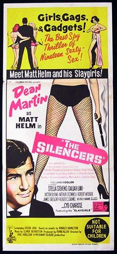 the silencers australian daybill poster dean martin Old Movies, Vintage Movies, Great Movies, Dean Martin Movies, Stella Stevens, Old Movie Posters, Cinema Posters, Jerry Lewis, Columbia Pictures