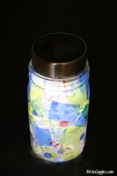 How to build a solar light. This is an excellent craft for bigger kids!