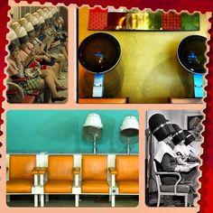 Classic hair-dryers/beauty salon