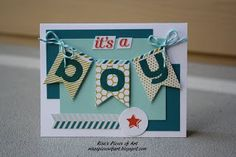 SU July paper pumpkin kit modified into cards