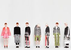 Xénia Laffely is a a recent fashion graduate who launched her 2012 men's collections entitled 'Bearded Faces'