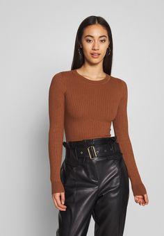 Suit IRON - Stickad tröja -  golden brown
