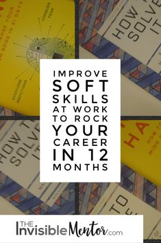 Looking to improve your soft skills at work? One way to do so is to read books, then apply what you learn at work. What is even better, is to use your newfound knowledge to solve an existing problem at work. This allows your boss and other influential people to take notice of you and view you as a leader.