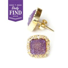 LOVE the purple & gold.