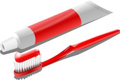 Tooth paste and brush, combines costs €1.30
