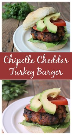 This is one of the best turkey burgers that I've ever eaten! Add this Chipotle Cheddar Turkey Burger to your summer BBQ menu!