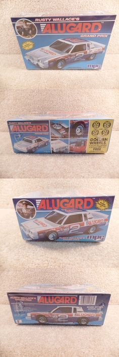 Kits 145964: New 1985 Mpc 1:25 Scale Model Kit Nascar Rusty Wallace Alugard Grand Prix #2 -> BUY IT NOW ONLY: $31 on eBay!