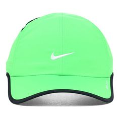 Nike Featherlight Cap ($25) ❤ liked on Polyvore featuring accessories, hats, nike hat, nike cap, cap hats and nike