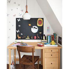 Room & Board - Agenda Modern Magnetic Boards - Sherwood Desk with Agenda Magnetic Board - Modern Kids Furniture Furniture Logo, Office Furniture, Home Furniture, Kitchen Furniture, Painted Furniture, Bedroom Furniture, Furniture Websites, Furniture Market, Furniture Chairs
