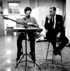 Sir George Martin turns 89 today - he was born 1-3 in 1926. He often was called 'The Fifth Beatle' for his enormous contributions to their recording processes at EMI Abby Road studios.