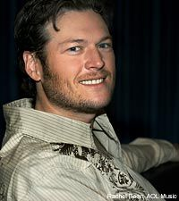 Blake Shelton~I love this guy! On the voice, for his great love for his wife, and his music. What a pimp!