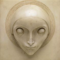 Adolfo Wildt's Fascinating Fascism Madonna, Italian Sculptors, Woodworking Inspiration, Figure Reference, Contemporary Sculpture, Figure Painting, Love Art, Ceramic Art, Art Inspo