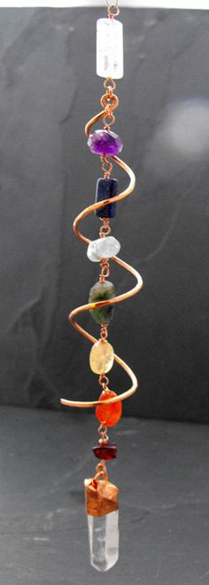 DNA Activator Chakra Balancing crystal healing by earthenchanted, $45.00
