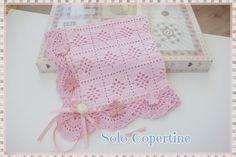 Copertine uncinetto e ferri con schemi e spiegazioni Lace Shorts, Blanket, Crochet, Cover, Pink, Dolce, 3, Fashion, Bedspreads