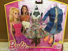 Barbie Life in the Dreamhouse Teresa Fashion White Floral Dress Day Look Outfit | eBay