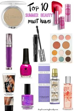 Top 10 Summer Beauty Must Haves  daydreamingbeauty.com