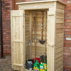 The Hartwood Pressure Treated Overlap Pent Large Outdoor Store is a versatile and spacious wooden storage unit ideal for larger garden equipment or furniture. Featuring large double doors enabling it to be used as a mower store or bike store. Hidden Door Hinges, Exterior Wood Stain, Apex Roof, Timber Boards, Pressure Treated Timber, Roofing Felt, Wooden Sheds, Garden Equipment, Forest Garden