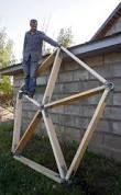 Resultado de imagem para geodesic dome connectors