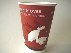 Starbucks red cup Let's Rediscover Why We're Best Friends