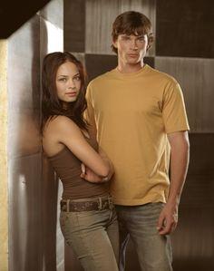 Smallville Season 3 - Tom Welling as Clark Kent and Kristin Kreuk as Lana Lang