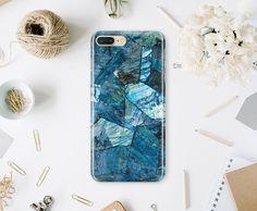 Indigo Marble Case iPhone 7 Case Marble iPhone 7 Plus Case