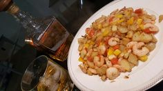 Shrimps and whisky