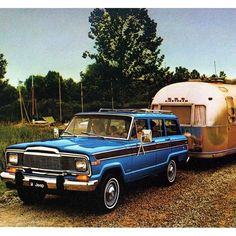 Jeep Grand Wagoneer & Airstream