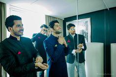 A Stellar Squad of Groomsmen | Groom | WeddingSutra.com Love Romance Kiss, Indian Wedding Theme, Wedding Sutra, Wedding Photography Inspiration, Wedding Photoshoot, Groomsman Gifts, Wedding Groom, Wedding Pictures, Groomsmen