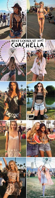 Best Coachella 2017 Outfits. Festival Fashion! Style Looks