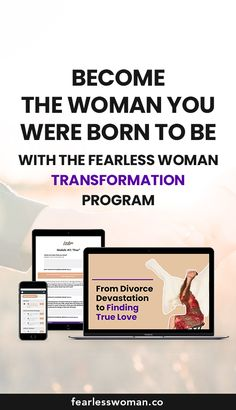 Become the fearless woman you were born to be! Learn how to take care of your own needs, get over your fears, know your worth and become a Fearless Woman! Dive deep into topics of making money and being financially independent. Learn more about men, dating, finding true love and more! #fearlesswoman #knowyourworth #personalgrowth #selfcare #womenempowerment Getting Over Divorce, Dating After Divorce, Online Dating Advice, Dating Advice For Men, How To Improve Relationship, Successful Relationships, Finding Love Again, How To Be Single, Personal Boundaries