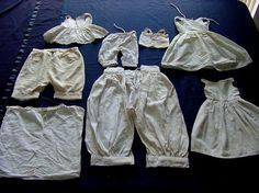Lot of Victorian & Edwardian Doll Clothe's. c.1900 by chalcroft, $24.00