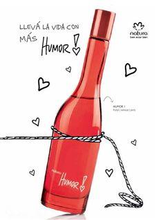 ♥ Humor 1 ♥ Más informacion en : http://www.naturacosmeticos.com.ar/nuestrasmarcas/natura-humor/mujer/perfumeria/humor-1-fragancia-femenina