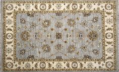 Traditional Oriental design area rug, by LJoni Inc., handmade rectangular rug perfect for a modern home bedroom, dining room or living room, 100% wool  - - -