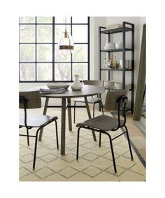 Scholar Dining Chair | Crate and Barrel They have this option with arms, too, in case you LOVE and want all chairs the same (two with arms could be head-of-table).