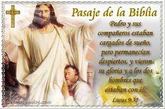 Vidas Santas: Santo Evangelio según san Lucas 9:32
