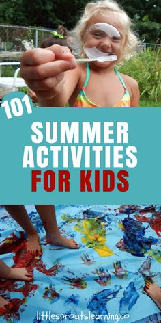 SUMMER ACTIVITIES FOR KIDS: There are so many things kids can do that don't cost a ton of money. I'm super cheap so I love good cheap summer activities. I love a bunch of happy, engaged children. Check out these summer activities for kids.